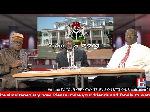 Nigeria Decides 24th May 2018   Heritage television Live Stream