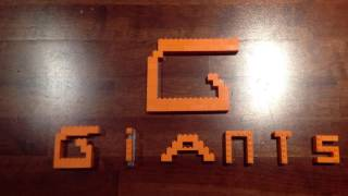 GWS Giants AFL Lego team logo