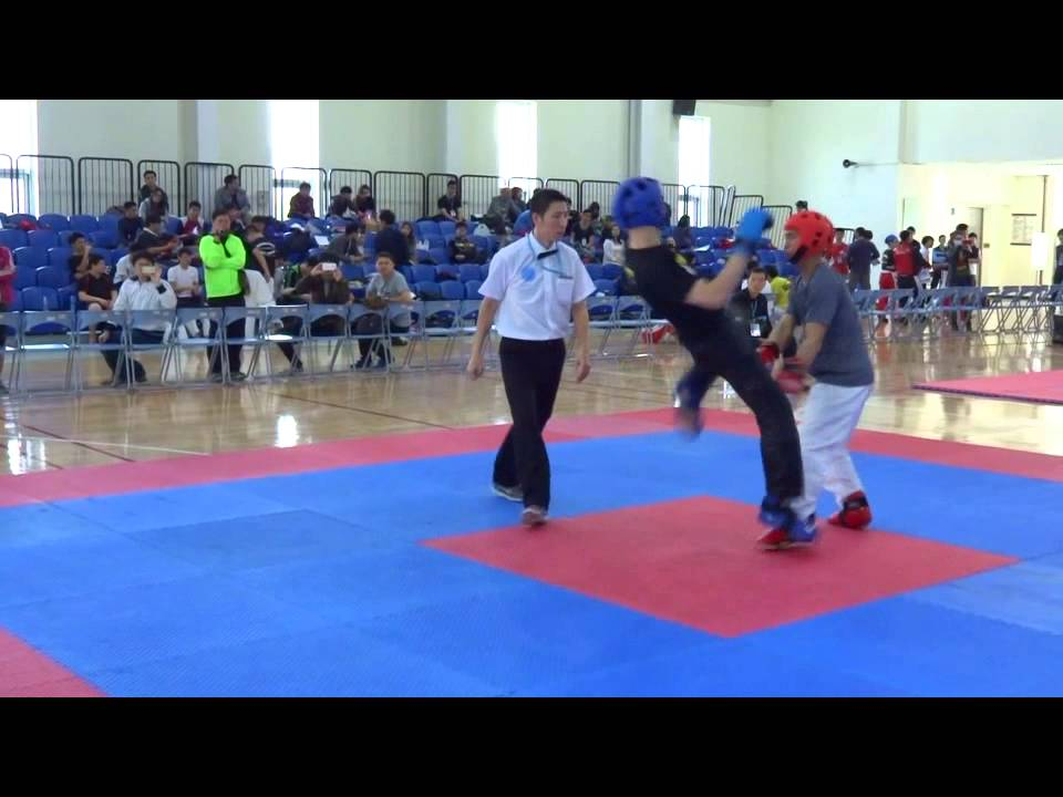 第二屆踢拳道69Kg量級冠亞軍戰 - YouTube