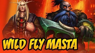 Wild Fly Masta | Rise Of Shadows | Hearthstone