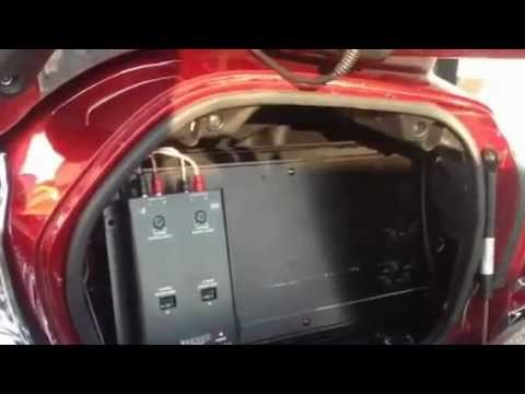 Honda Gold Wing Audio Upgrade Youtube