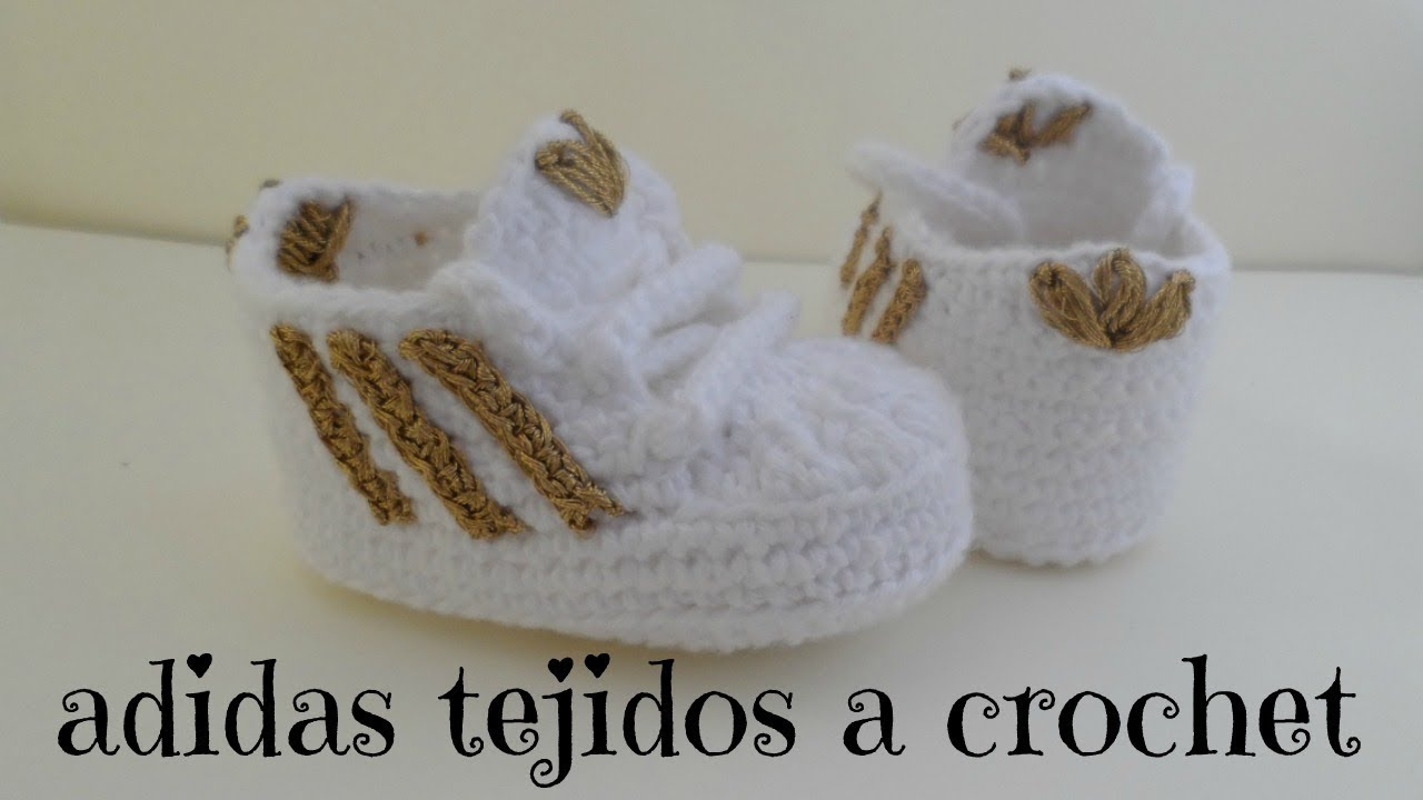 Adidas A Zapatitos Youtube Tejidos Crochet pwxnnEdq06