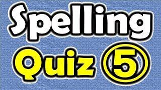 Spelling Quiz (5) [ ForB English Lesson ]