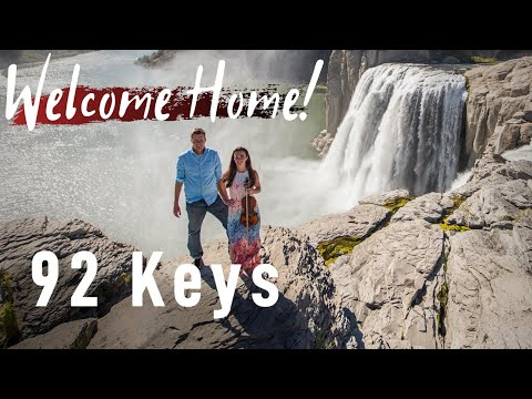 Welcome Home - Radical Face - Violin and Piano Cover by 92 Keys - Shoshone Falls