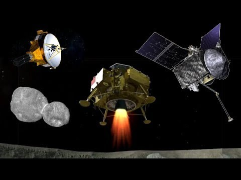 OSIRIS REx, New Horizons & Chang\'e 4 Make History