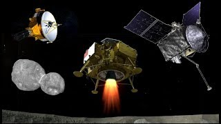 OSIRIS REx, New Horizons & Chang