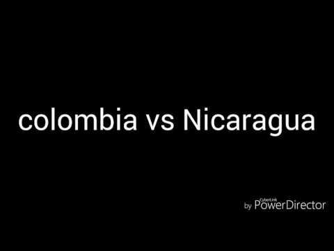 Ejercito colombiano vs Nicaragua