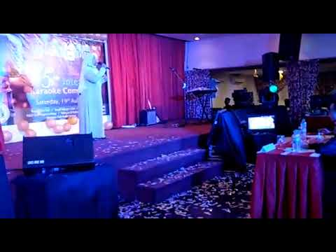 Inter Club Karaoke Competition at RCS on 19/08/2017 by our singer Puan Intan