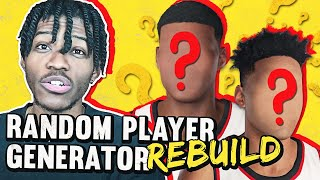 RANDOM PLAYER GENERATOR REBUILDING CHALLENGE IN NBA 2K21
