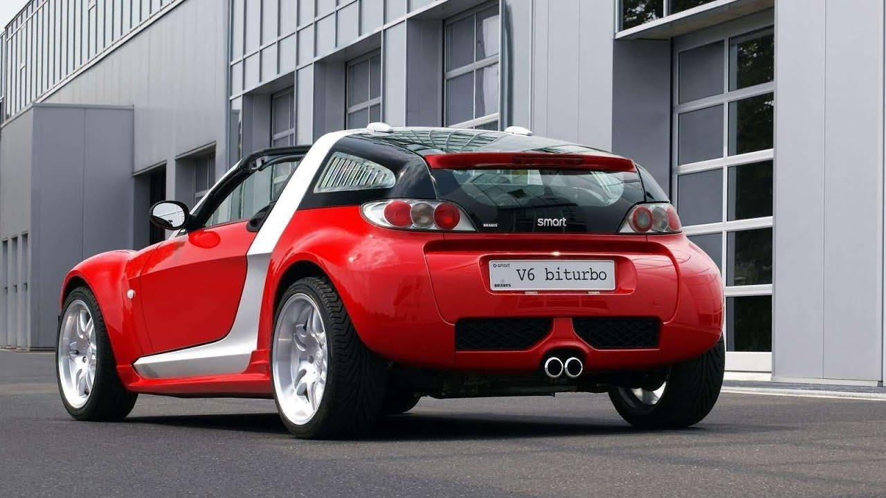 brabus smart roadster coupe v6 biturbo 2003 youtube. Black Bedroom Furniture Sets. Home Design Ideas
