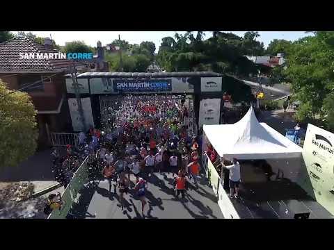 Más de 2 mil personas corrieron por la inclusión en San Martín Corre 2018