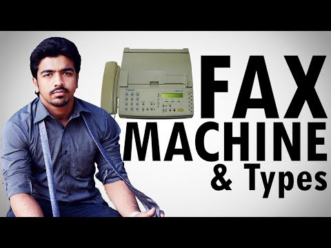 What is Fax Machine | Types | Descriptive Fax Machine & Fax Modem | [Explained Hindi/Urdu]
