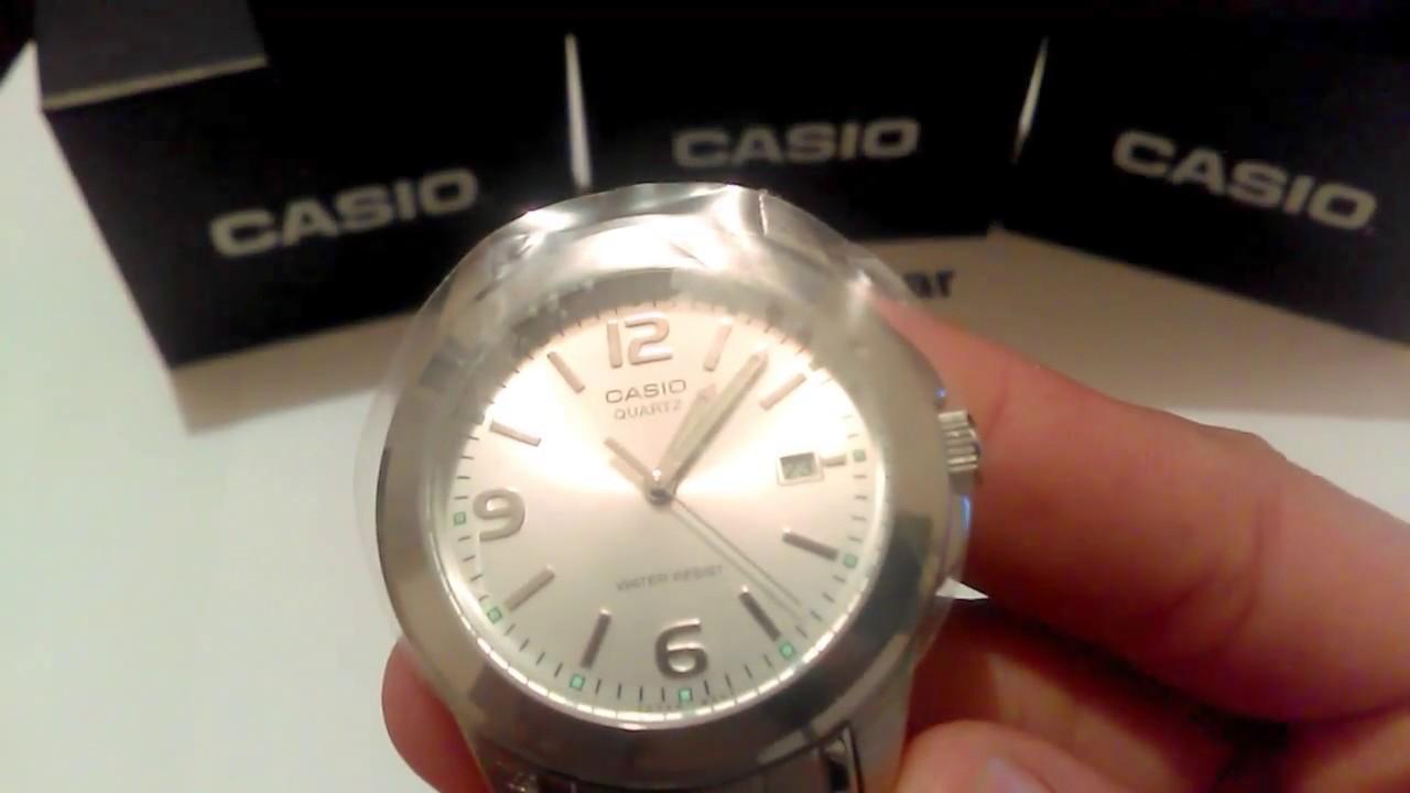 e4d1f3258aaa Reloj Hombre Casio Mtp-1215 Inoxidable Original - YouTube