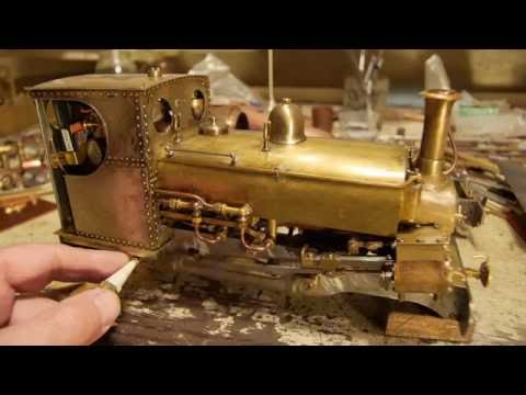 Building a live steam model locomotive 'Blanche' from castings, Part 1