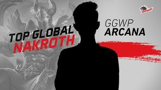 Ggwp Arcanaa~ Top 1 Nakroth  Makro Se Indo -  Gameplay