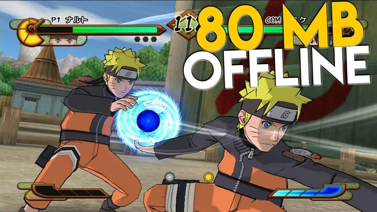 CUMA 80 MB ! Game Naruto Terbaik Di Android (OFFLINE)