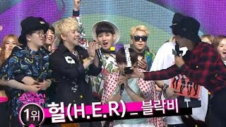 【TVPP】Block B - Winner of the Week Song at goodbye stage!, 블락비 - 음악중심 1위! @ Show! Music Core Live