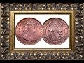 Coin Value 5 FIVE PENCE MILS 1955 Government of Cyprus  Queen Elizabeth II coins