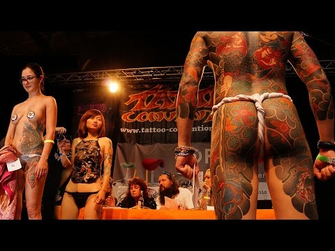 TATTOO CONVENTION BERLIN GERMANY 2016 26TH INTERNATIONALE