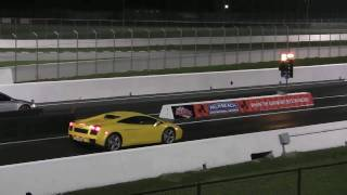 Jazda Lamborghini Gallardo vs Audi R8 – Tor Białystok video