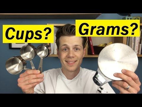 67: Three Reasons Why I Don't Convert My Recipes From Grams Into Cups - Bake With Jack