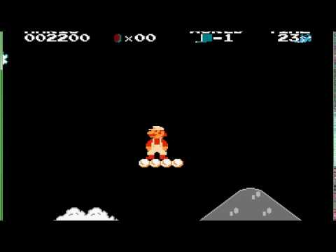 Let's Play - Super Mario Bros. 1 (Game Genie World Codes)