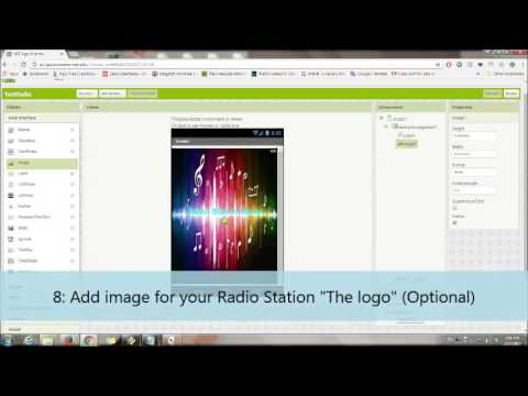 Create a simple radio streaming with App Inventor Part 1