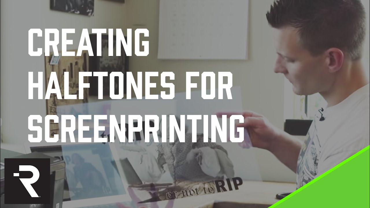 Color halftone printing - Creating Halftones For Screen Printing To Rip Or Not To Rip