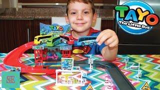Автобус Тайо и автобусная станция Мультики про машинки Видео для детей Tayo little bus cartoon