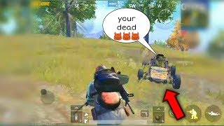 O M G this buggy so close | PUBG MOBILE | GHOST J