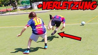 Vater vs. Sohn - FUßBALL CHALLENGE | ViscaBarca