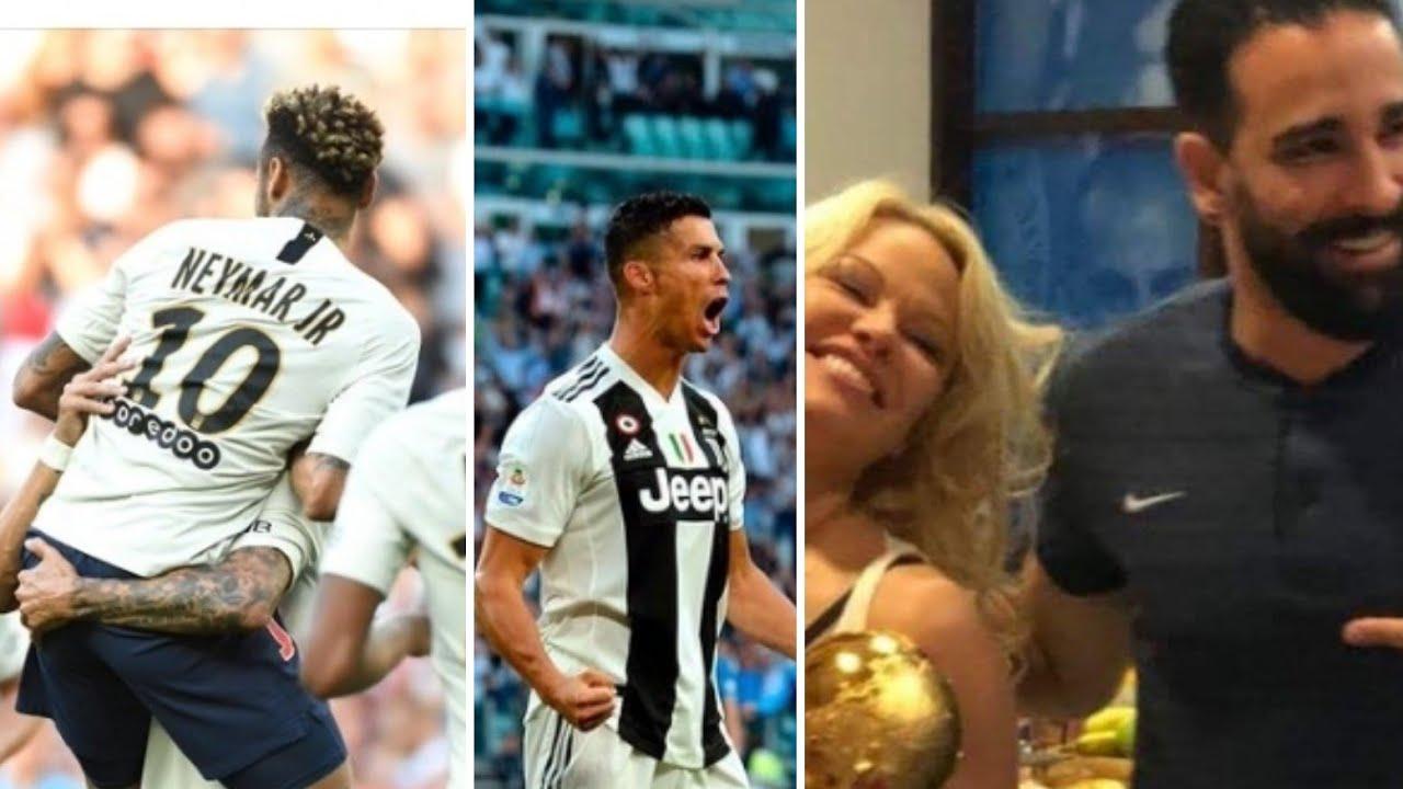PSG record, Rami à Paris tout les soirs ?! Crise à manchester, sari fan de hazard,Cristiano Ronaldo