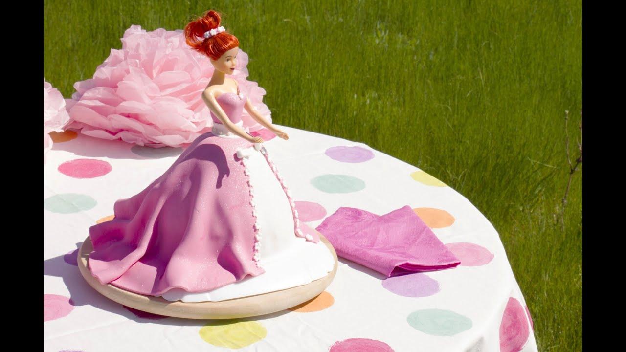 Faire Un Gâteau Princesse Youtube