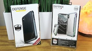 In this video, we check out the X-Doria Defense Lux & Defense Shield cases for the iPhone X. Use code BREEZE20 for 20% off ▷ https://xdorialife.com/ This ...