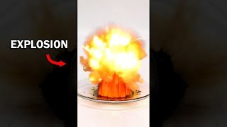 Don't touch this chemical or it will explode (manganese heptoxide)