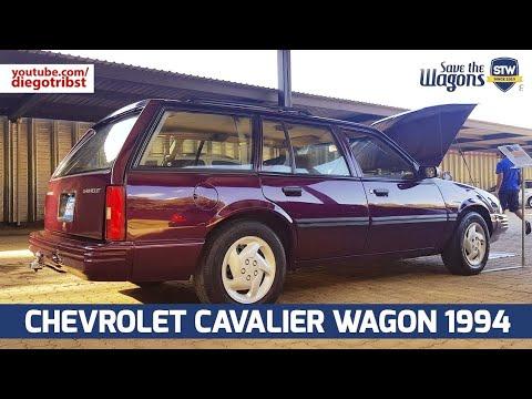 RARIDADE: Chevrolet Cavalier Wagon 1994 No BR #SaveTheWagons