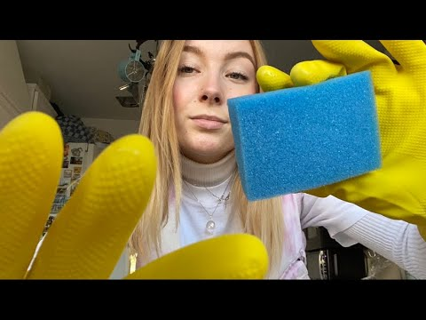 ASMR   Custom  for Anthony 🧼 Rubber glove, soap, water sounds