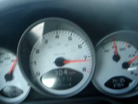 Porsche 997 Carrera S 306 km/h Top Speed - YouTube