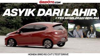 Honda Brio RS CVT | Test Drive | GridOto