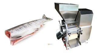 Пресс для производства рыбного фарша: неопресс SZC-1000 fish meat bone deboner separator