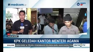 Download Video KPK Sita Ratusan Juta Rupiah dari Kantor Menteri Agama MP3 3GP MP4