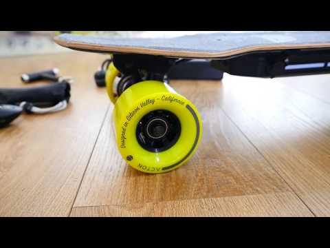 Unboxing Acton BLINK Hub Motor Skateboard