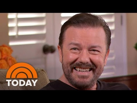 Ricky Gervais: 'I'm Certain Not Everyone Will Like' My Globes Hosting | TODAY