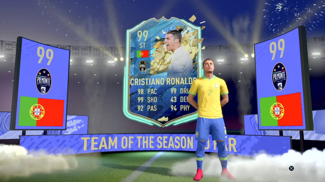 Packing Tots Ronaldo Fifa 20 Ultimate Team Youtube