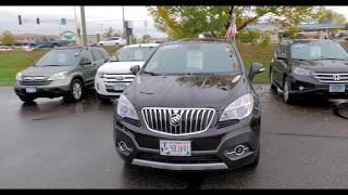 2014 Buick Encore AWD 4dr Leather  6H170474A
