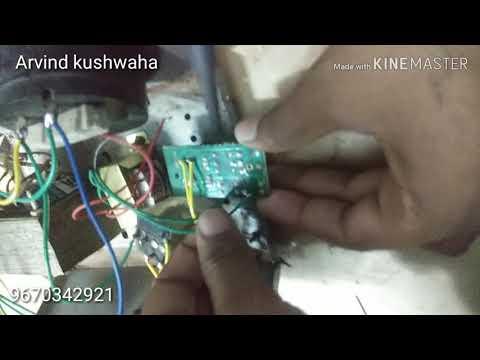 Auto Cut Voltage Stabilizer Connection
