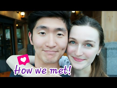 How we met! ❤️ 우리의 첫만남! ( 국제커플 / French girlfriend - Korean boyfriend )