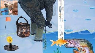 Жерлица ТОНАР монтаж и выход на лед. ❄ Зимняя рыбалка 2018