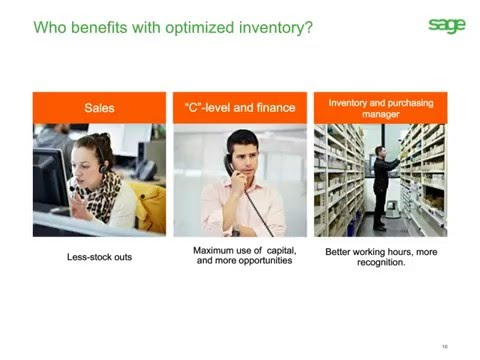 Sage 100 ERP Inventory Advisor: Reduce Stockouts, Excess Inventory & Working Capital