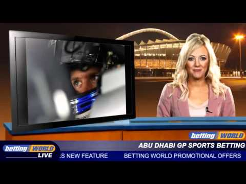 Abu Dhabi GP sports betting
